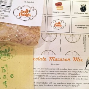 DIY Chocolate French Macaron Baking Mix , The perfect baking gift for any macaron or baked goods lover