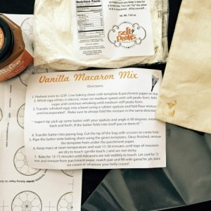 DIY Vanilla French Macaron Baking Mix + Chai Dulce Caramel Filling, The perfect baking gift for any macaron or baked goods lover