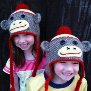 Crochet Classic Sock Monkey Hat