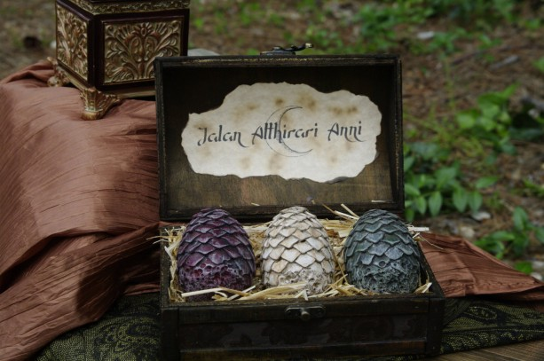 how to make dragon eggs game of thrones