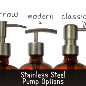 Brushed Stainless Replacement Soap Pump, Lotion Dispenser Pump, Modern Style, Stainless Steel 2cc High Quality 28/400 DIY