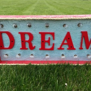 Dream Marquee Sign