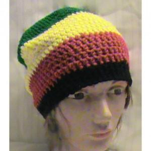 Unisex Crochet Rasta Hat