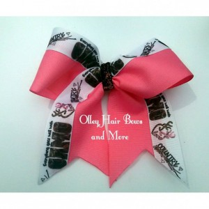 Camo Girl Cheer Hair Bow - Camo girl Hair Bow - camo Hair Bow -  Camo Accessories - Camp Girl Accessories