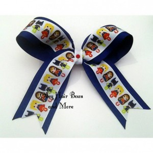 Super Girl Hero Cheer Hair Bow - Super Hero Girl Hair Bow - Superhero Hair Bow -  Super Girl Accessories - Super Hero Accessories