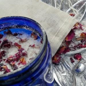 Rose Petal Bath Soak/Bath Salts/Rose Bath Salts/Milk Bath/Oatmeal Bath/Detox Bath