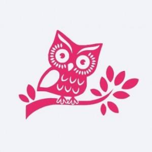 personalized owl on a tree car decal owl tree nursery wall car