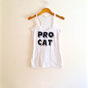 White Racerback flecked and black cat tank top, funny cat shirt, black cat, yoga clothes, hipster, cat tshirt, teen girl, crazy cat lady