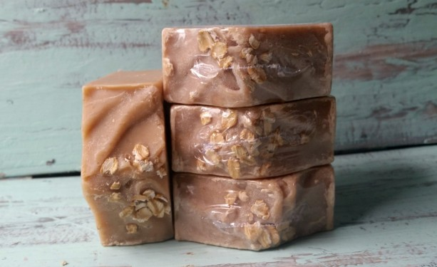 Oatmeal, Milk, & Honey Goat Milk Soap