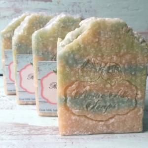 Sea Glass - Goat Milk and Sea Salt Soap Bar