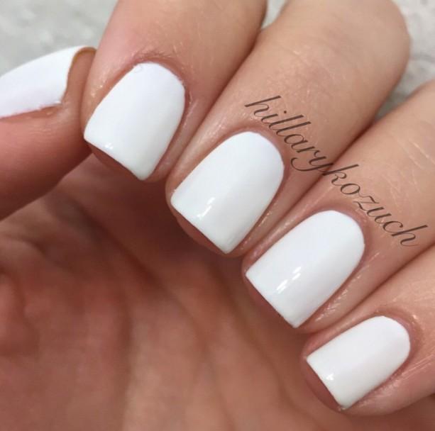 Alwhite, Alwhite, Alwhite - White 3-Free Nail Polish - Vegan - Opaque White nail polish
