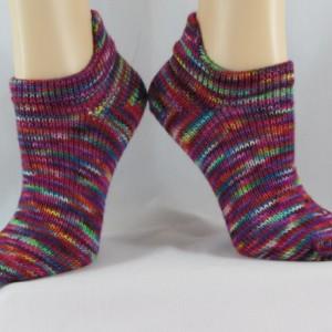 Heel Tab No Show Hand Cranked Socks-Free Shipping