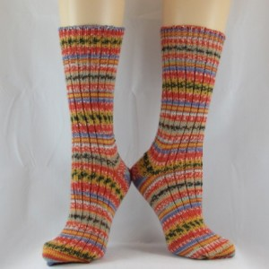 Scandinavian Inspired Hand Cranked Wool Socks-Free Shipping