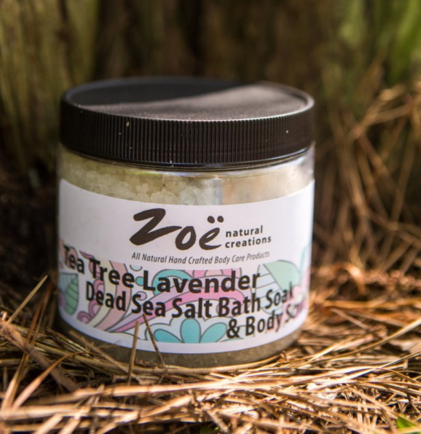 Tea Tree & Eucalyptus Dead Sea Salt Bath Soak