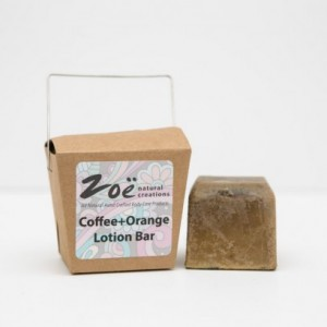 Coffee Orange Lotion Bar. Member of The Artisan Group