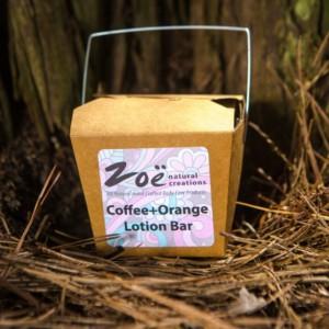 Coffee Orange Lotion Bar. Member of The Artisan Group