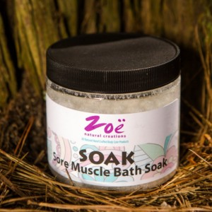 Sore Muscle Salt Bath Soak
