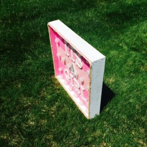 Its a girl! Lighted Pink Marque Sign(Baby Shower) (Girl) (Handcrafted)