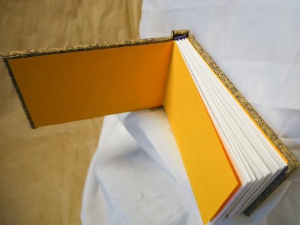 "Handmade Hardbound Art Book (cloth covered) 4 1/2"" x 3 1/4"" blank w 98 lb/160g Canson mixed media paper - art, sketchbook, journal"