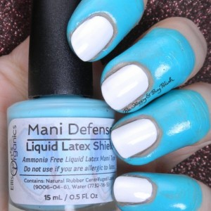 Mani Defender - Liquid Latex for perfect nails - Use for easy clean up of stamping and nail art