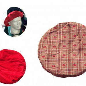 Grand Opening Sale!!!! Red Velveteen unisex reversible hat