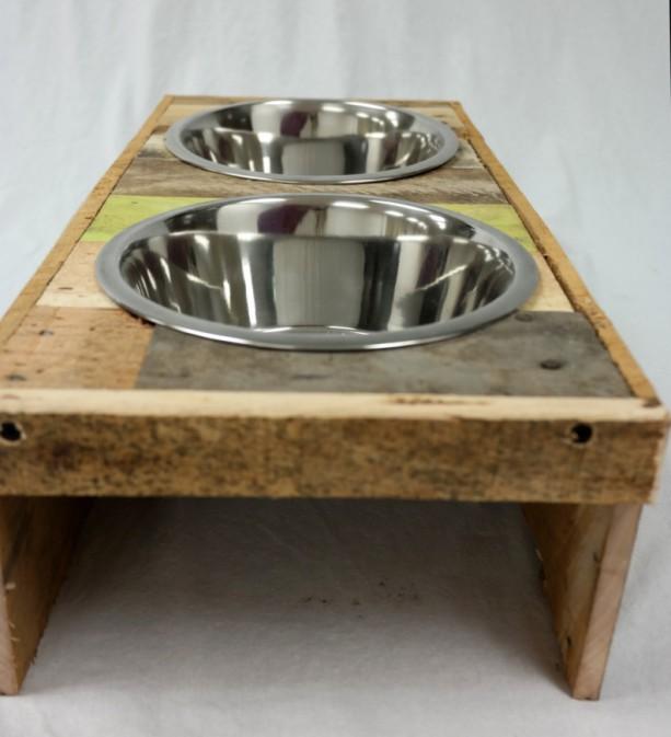 Wooden Dog Bowls Design Decoration