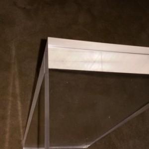 "1.5"" Acrylic Console Table"