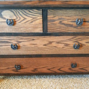 """Country Home Decor, """"Rustic Home Decor"""", Solid Oak Dresser, """"FREE SHIPPING"""""""