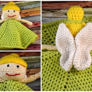 Crochet Fairy Lovey - Tinkerbell-inspired