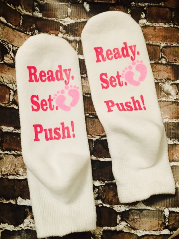 Push Socks for Labor and Delivery