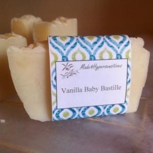 Vanilla Baby Bastille Soap
