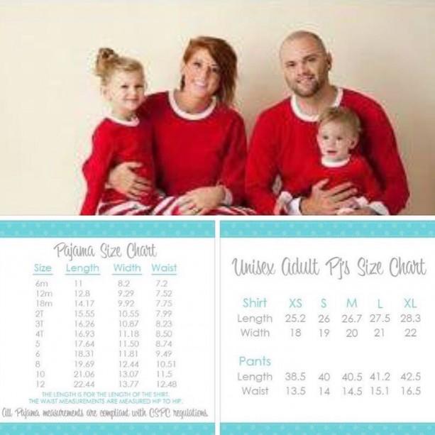 Christmas PJ preorder for kids