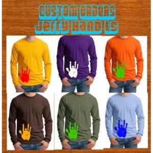Jerry Hand Forever Grateful Long Sleeve Custom Order