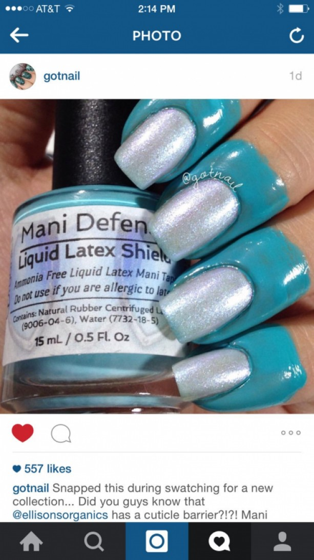 Mani Defender - Liquid Latex for perfect nails - Use for easy cle ...