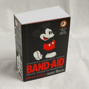 Mickey Mouse Collectible Band-Aid Handmade Book Disney blank notebook journal diary gift upcycle