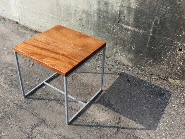Bon Modern Wood And Metal End Table   The Calvin Table   Simple High Quality  Table