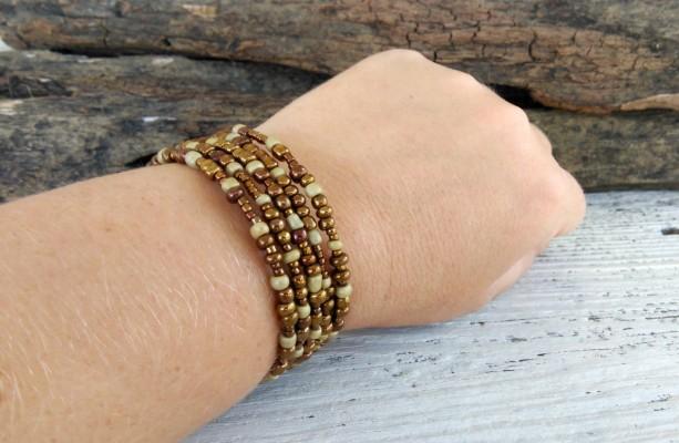Simple Boho Bracelet Jewelry Bohemian Beaded