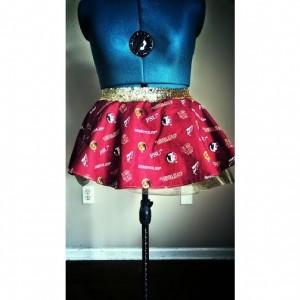 Seminoles FSU Running Skirt Tutu