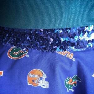 Florida Gators Running Skirt Tutu