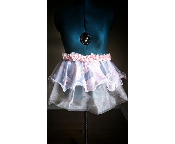 Butterfly Garden Party Running Skirt Tutu
