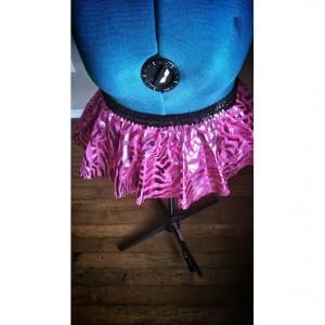Pink Zebra Run Diva Running Skirt Tutu