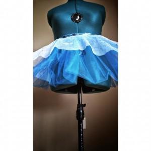Sparkle Light Blue Running Skirt Tutu