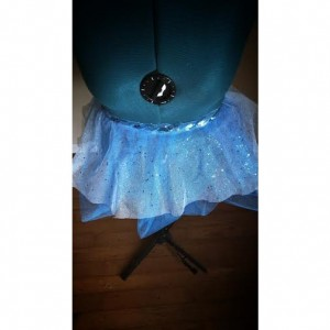 Sparkle Light Blue Running Skirt Tutu