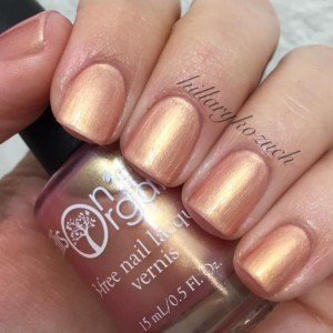 Secret Love Nail Polish - Rose Gold cruelty free, 3-free Nail Lacquer - 0.5 oz Full Sized Bottle