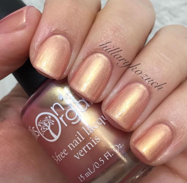 Secret Love Nail Polish - Rose Gold cruelty free, 3-free Nail Lac ...