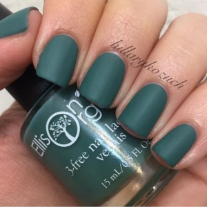 Toteally Matte About You - Matte Teal vegan, cruelty free, 5-free Nail Lacquer - 0.5 oz Full Sized Bottle