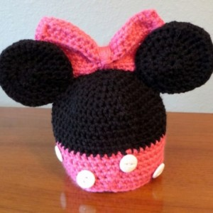Minnie Mouse Baby Hat