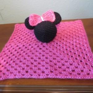 Minnie Mouse Snuggle Buddy