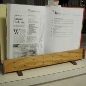 Portable Computer Storage/Book Holder