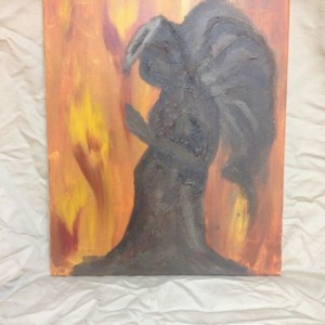 Dire Angel painting